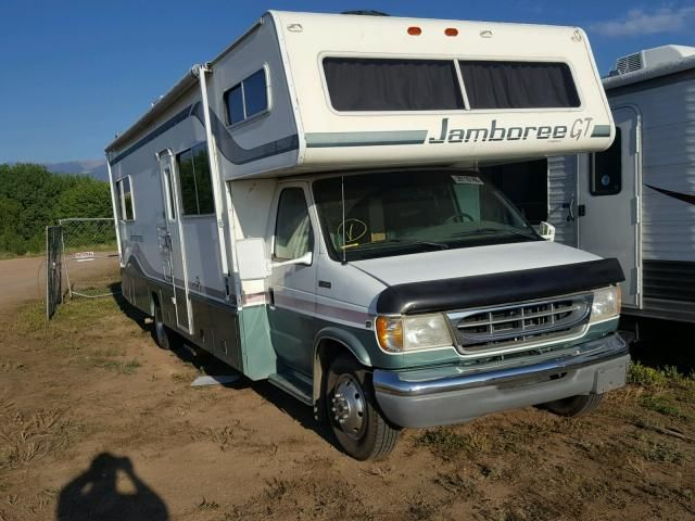 Salvage 1998 Fleetwood Jamboree Gt   Motorhome - Campers