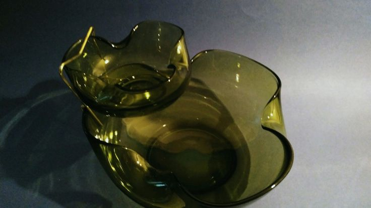 Anchor Hocking 3 piece Avocado Chip and Dip Set by LittleBitsBazaar on Etsy https://www.etsy.com/listing/251299225/anchor-hocking-3-piece-avocado-chip-and