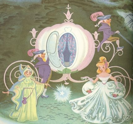cinderella art by mary blair - I have the book with these illustrations!!