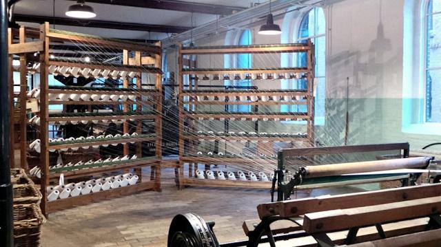 Ketting scheren TextielMuseum B1.2 Jessica Joosse: Week 8 Activity - Textile Museum & Lab (Tilburg)