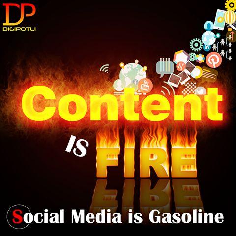 Good content and decent #SocialMedia presence go hand in hand.   Digipotli #SearchEngineOptimization   #SocialMediaMarketing   #CalltoAction