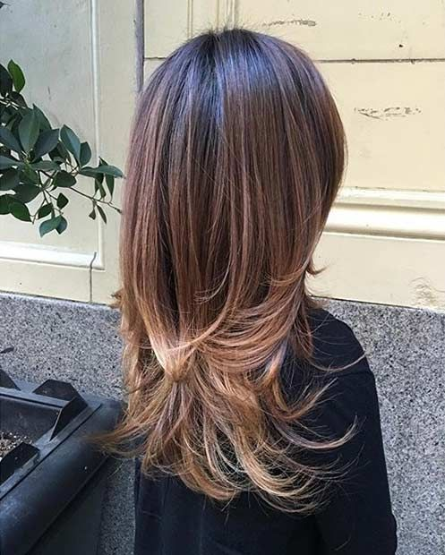 1000+ Ideas About Layered Haircuts On Pinterest