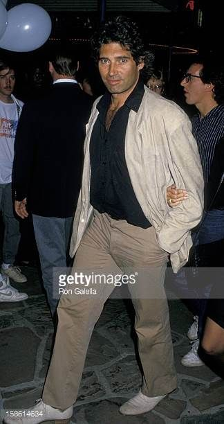 Actor Michael Nouri attending the premiere of 'Action Jackson' on February 11 1988 at Mann Village Theater in Westwood California