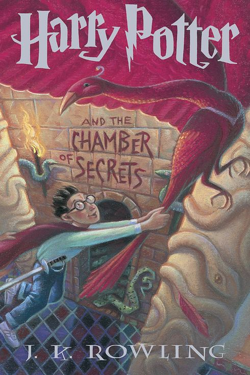 """""""Harry Potter and the Chamber of Secrets"""" (original cover)"""