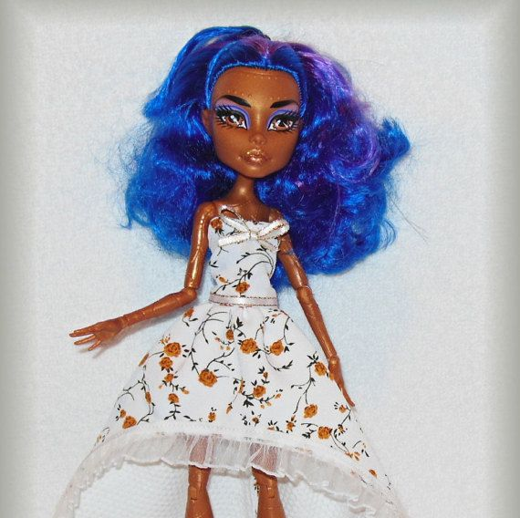 Dress for Monster doll MH doll outfit handmade. by LussiFashion