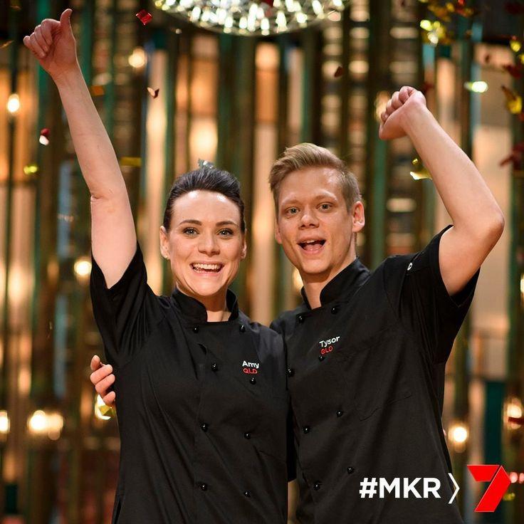 Amy & Tyson, MKR winners 2017.