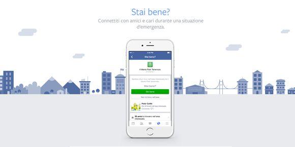 Su Facebook Zuckerberg lancia il Safety Check [BREAKING NEWS]