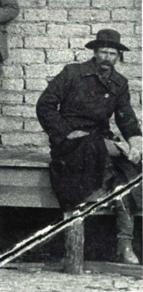 Lincoln County, New Mexico Sheriff Pat Garrett circa 1887.