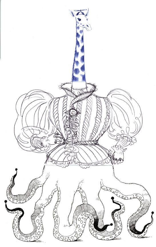 Exquisite Corpse - Many ways to interpret the same topic