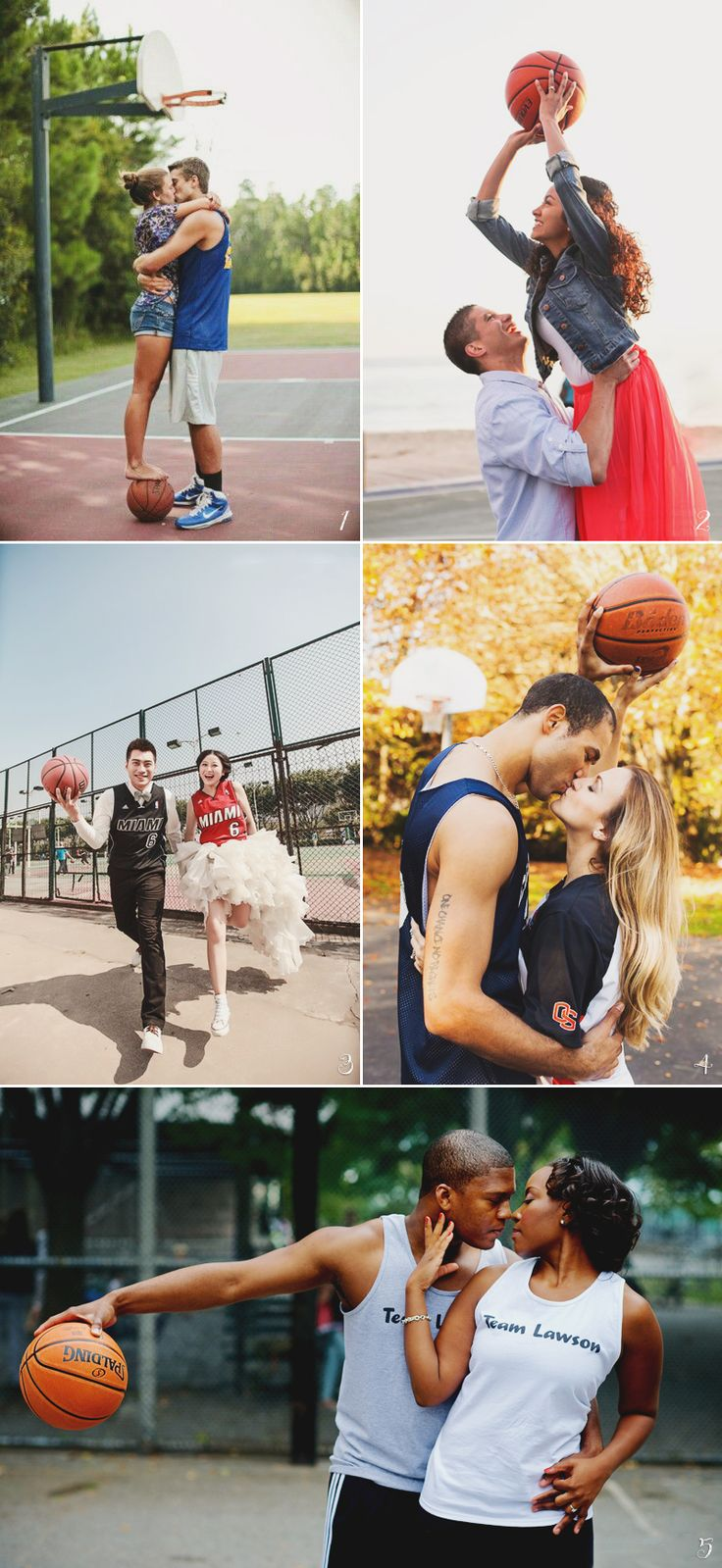 29 Athletic Engagement Photo Ideas For Active Couples!
