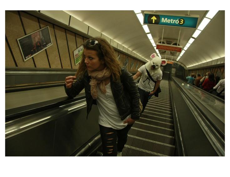 Photo by me. Photo: Diána Rigó #metro #budapest