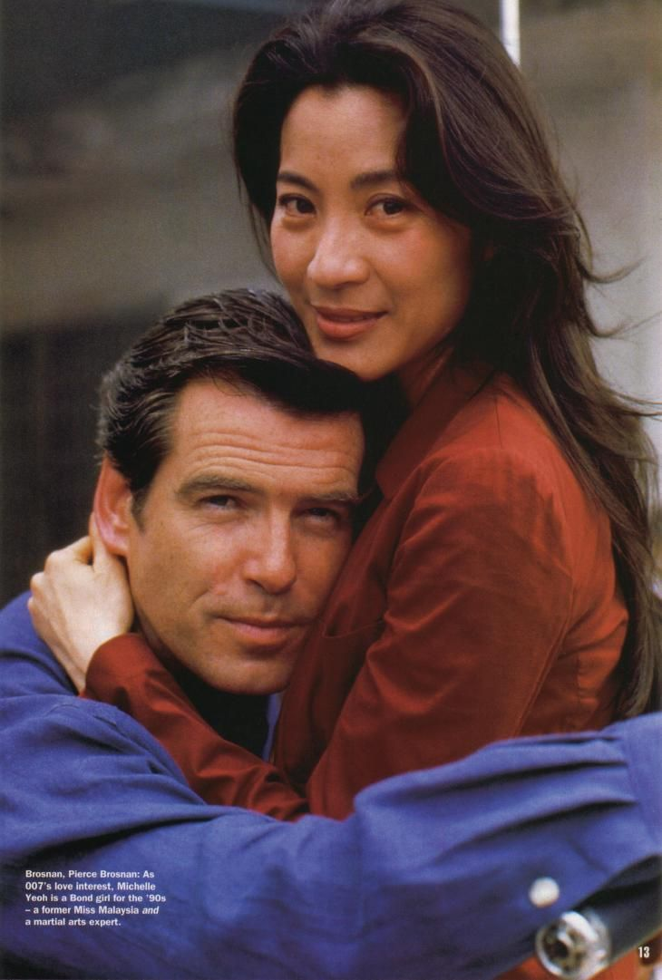 "Michelle Yeoh in ""James Bond: Tomorrow Never Dies"" (1997) - This film sealed the deal for me. Little did I know I would start training just after I watched it. :)"