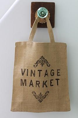 Good Things Store: ECO Bolsas- Vintage Market