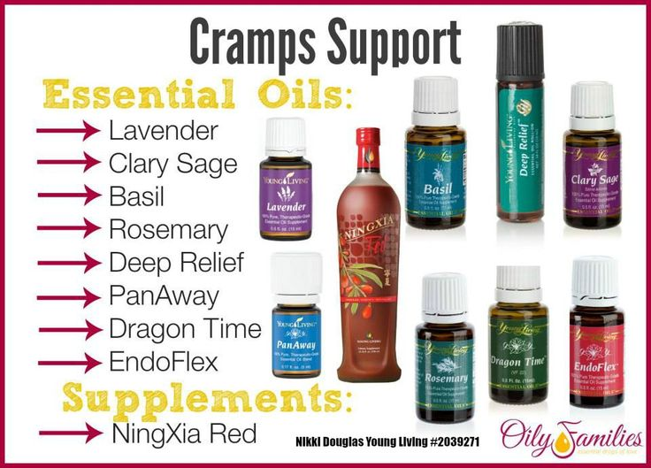 Relief From Menstrual Cramps With Young Living Essential