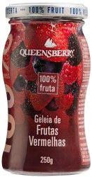 Geleia Queensberry de Frutas Vermelhas 100% Fruta.