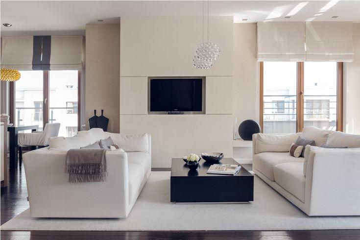 salon w stylu nowoczesnym