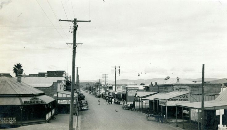 Laidley Town in Queensland in 1936.