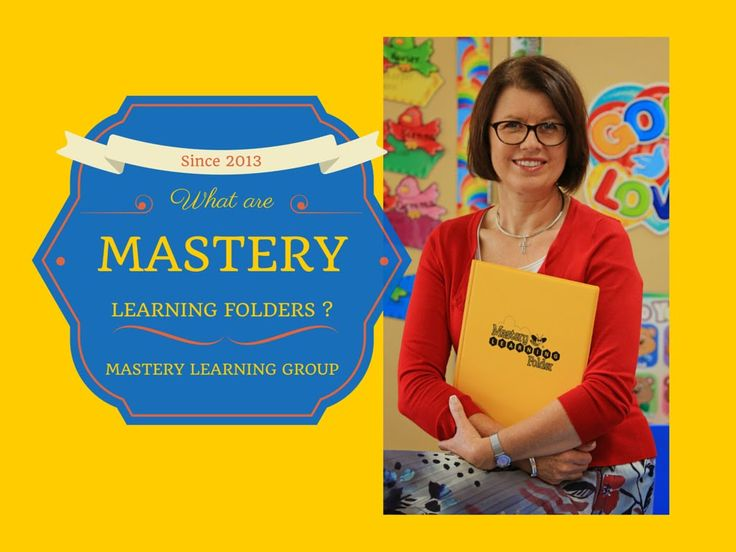 How to use mastery learning folders to help struggling learners.
