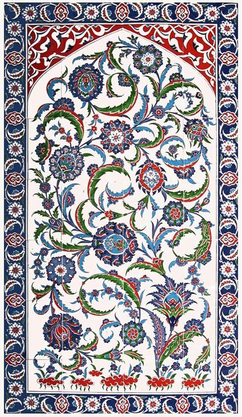 Traditional Iznik Tile Art - ShopTurkey.com