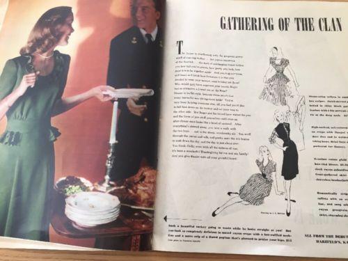 Seventeen-Magazine-November-1944 that green dress!
