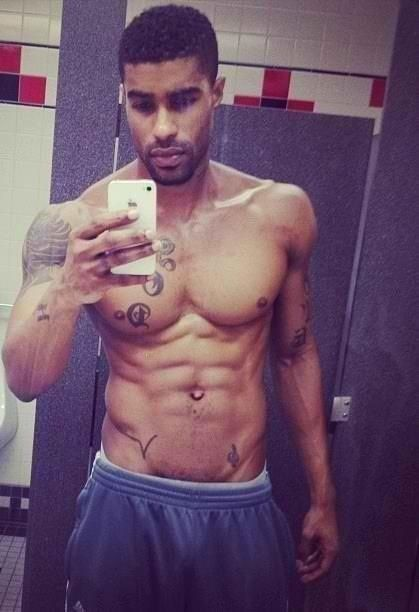 Black Men Selfies | He's cute | Aaron | Pinterest
