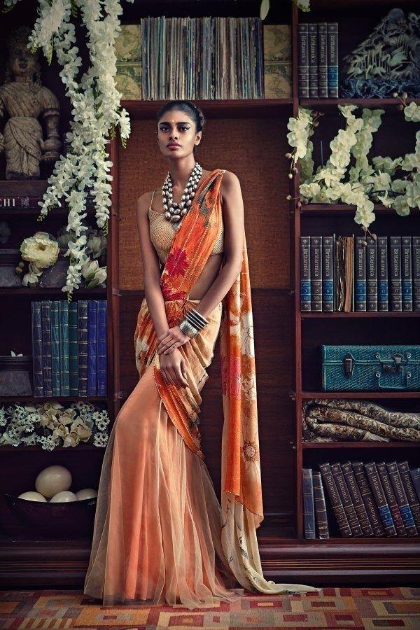 Saree by:Tarun Tahiliani