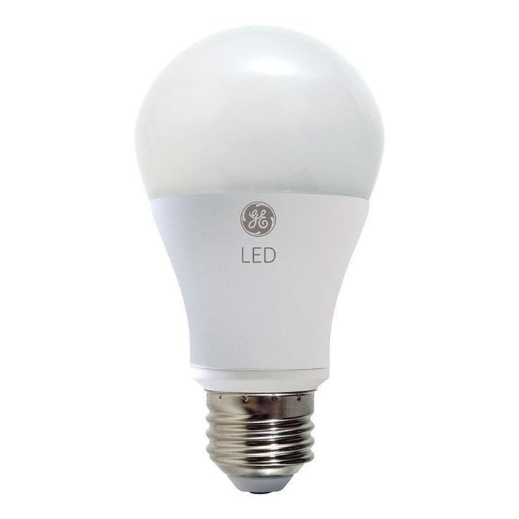 GE 7W A19 A-Shape Dimmable LED 2700k Light Bulb - 40w equivalent