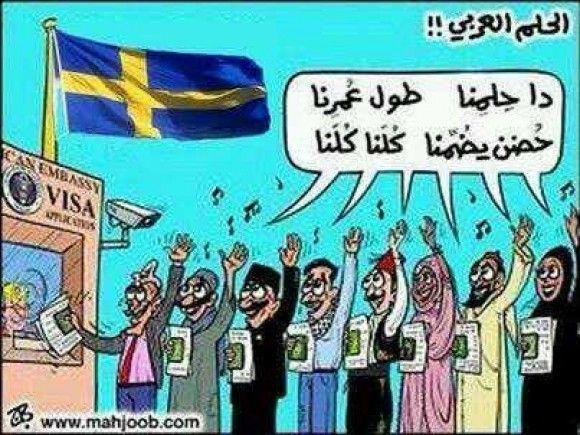 السويد وأحلام لاتتحقق