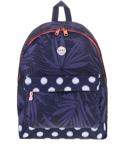 Modrý batoh s ružovým zipsom Roxy Be Young 34,95€ -> 24,95€