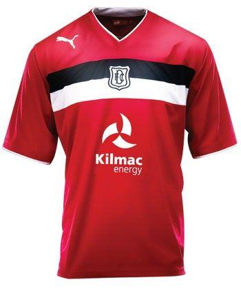 Dundee FC Third Kit 2012-13 Puma