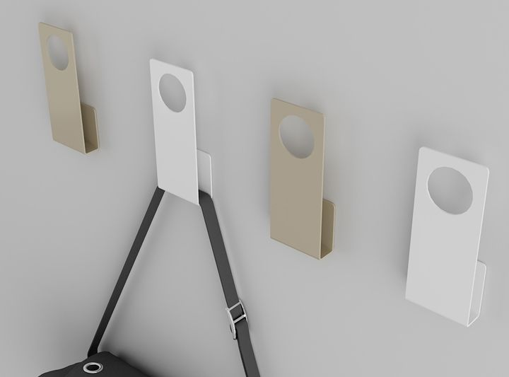 Buraco hooks, design by enblanc for Systemtronic