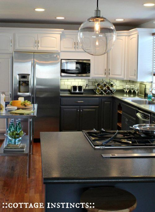 Best Two Tone Kitchen Cabinets To Prevent The Room From 400 x 300