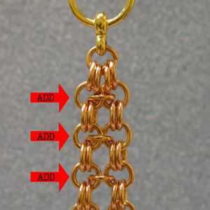 How to Make A Channel Bracelet Chain - very nice, detailed.  Pictures and words. #chainmaille #tutorial