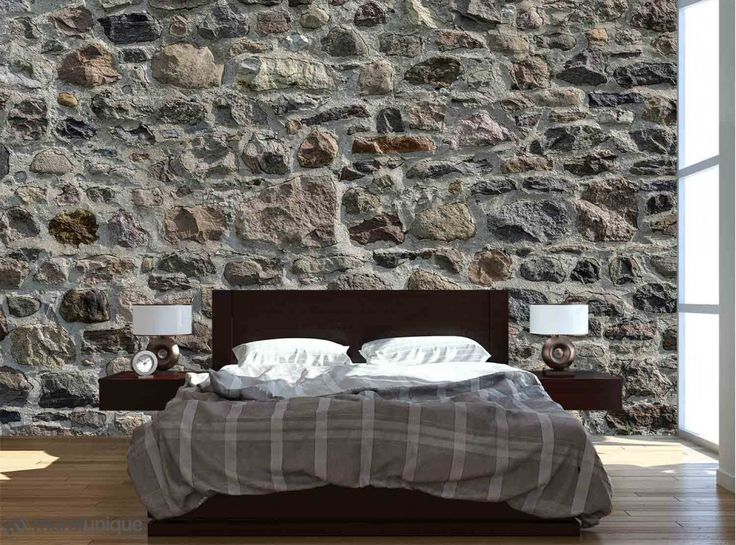 Field Stone Wall | Buy Prepasted Wallpaper Murals Online - Muralunique.com