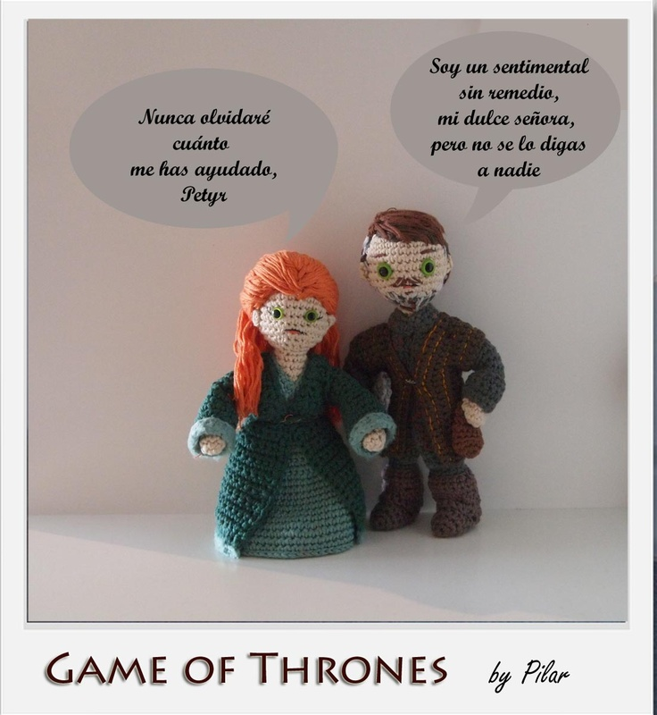 Game Of Thrones Amigurumi Pattern Free : 53 best images about amigurumi famosi got on Pinterest ...