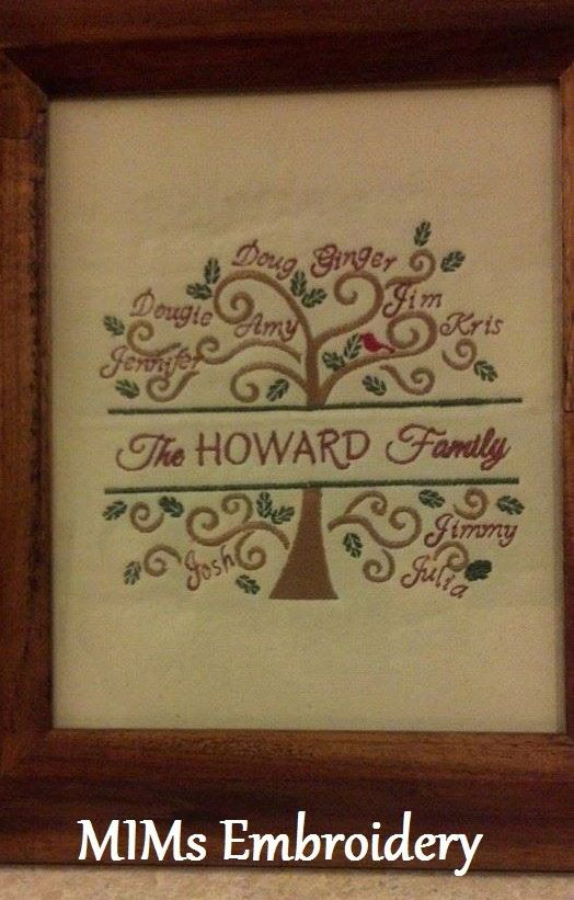 Hey, I found this really awesome Etsy listing at https://www.etsy.com/listing/221974891/personalized-custom-embroidered-family