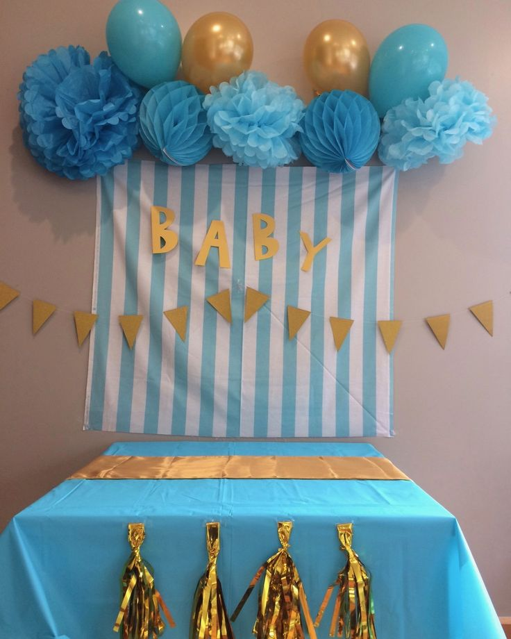 Baby shower party box - well a work in progress anyway. #boxesofawesome #thepartyboxcompanynz #babyshower #turquoiseparty #turquoisegold