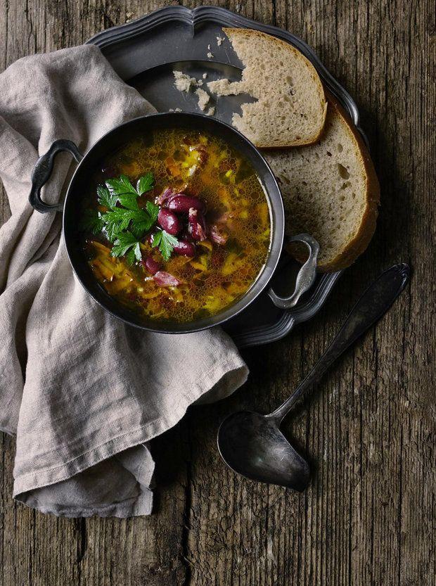 Istrijská fazolová polévka 2, Foto: All