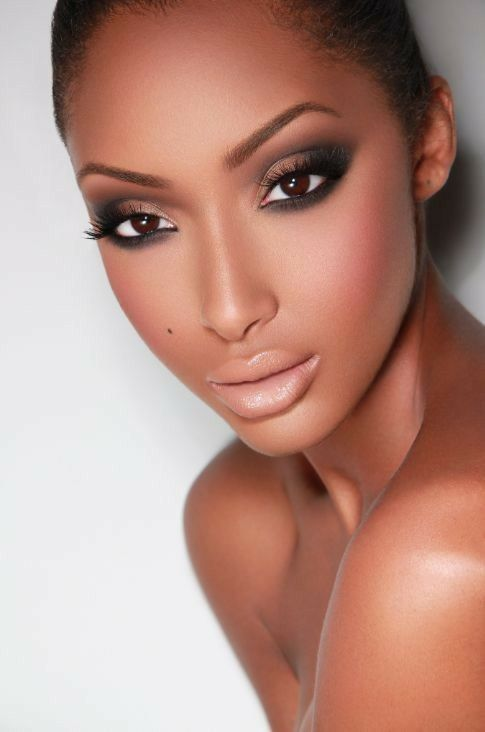 26 best wedding make-up images on Pinterest   Beautiful women, Black ...