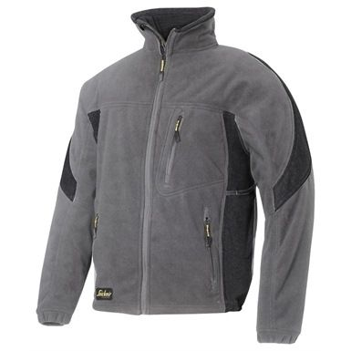 The Snickers Protective Fleece Jacket offers outstanding warmth and protection. It is very versatile wind-proof fleece garment which offers you both great insulation and breathability.