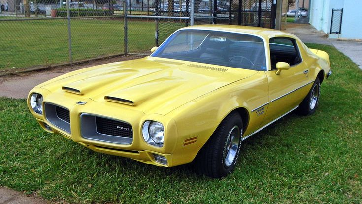 Yellow Gold: 1970 Pontiac Firebird Formula 400 - http://barnfinds.com/yellow-gold-1970-pontiac-firebird-formula-400/