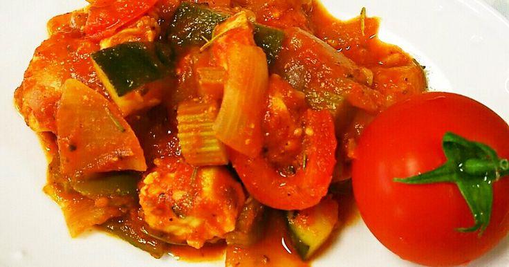 簡単、トマト&野菜たっぷり、ラタトゥイユ by かぱにゃ 【クックパッド】 簡単おいしいみんなのレシピが275万品