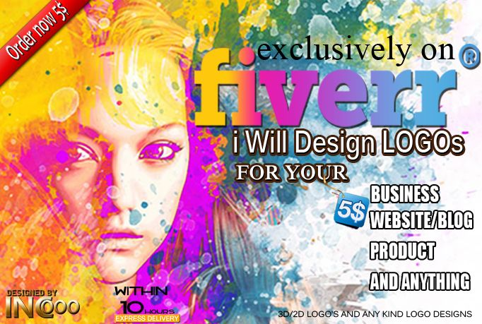 incooo: design high level and high quality LOGO for $5, on fiverr.com