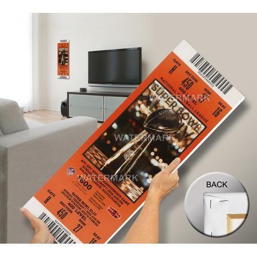 Super Bowl XLIV (44) Mega Ticket - New Orleans Saints