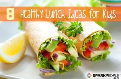 8 Quick, Healthy Lunches for Kids | via @SparkPeople #lunch #school #kid #SparkMoms #recipe #food