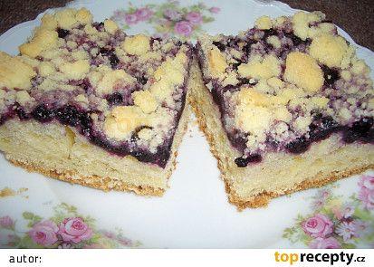 Borůvkový koláč I. recept - TopRecepty.cz