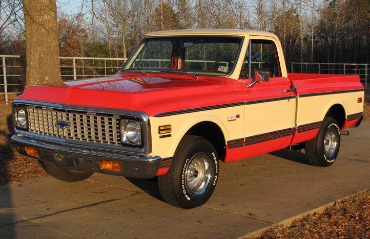 1971 Chevrolet 1/2 Ton Pickup   F177   Kansas City Spring 2011  – Trucks