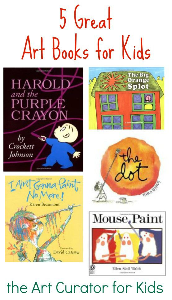 The Art Curator for Kids - 5 Great Art Books for Kids