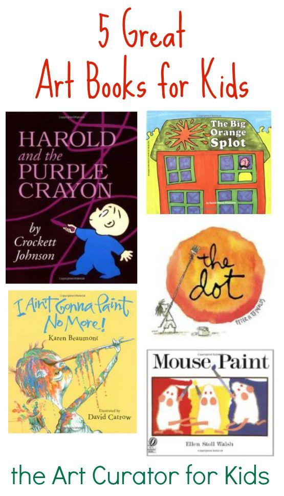 The Art Curator for Kids - 5 Great Art Books for Kids, Art Children's Books