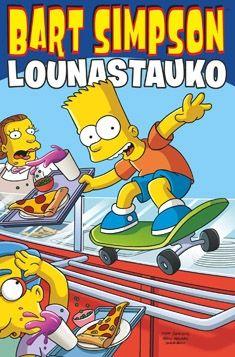 Bart Simpson - Lounastauko (Kovakantinen)  saatiin iso kasa simpsoneita joten tauolla nämä.